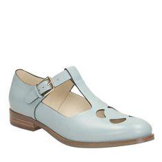 Orla Kiely | USA | Accessories | Shoes | Bobbie Shoe (0CLKBOB219) | Light Blue