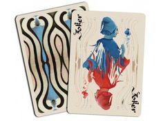 Cartes  à Jouer Luxe Bohémia Bleu chez Baron des échecs