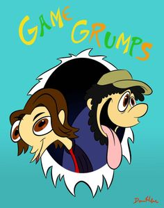 Game Grumps by The-Fifth-Dementia