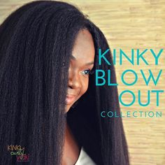 Don't want to blow out your own hair? Kinky Blow Out formerly known as Kinky Straight is new and improved! Designed to mimic 4C hair blown out it can be worn in its glorious kinky state or worth gorgeous heatless curls. Available in clip ins full-half bundles for sew ins or DIY wigs and closures. Lacefront & half wigs will be available in May! Visit KinkyCurlyYaki.com to purchase! Link also in bio