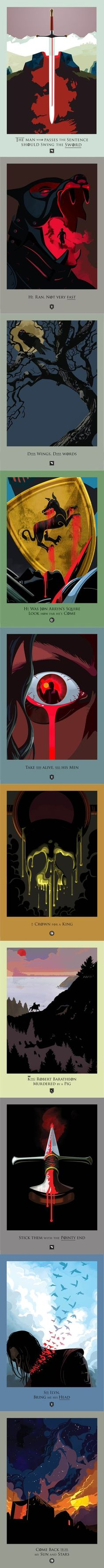 Beautiful deaths: Game of Thrones: Season 1 Chapters: 1-10 by Robert M. Ball.