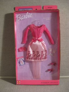 Fashion Avenue Barbie Doll Clothes ~ BALLET BOUQUET Outfit~ NEW IN BOX!