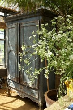 Teal Armoire