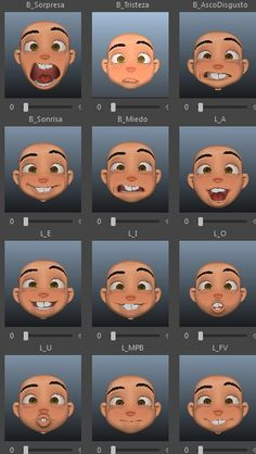 Learn To Draw Faces - Drawing On Demand How To Do Animation, Animation Reference, 3d Animation, Zbrush Character, Character Modeling, 3d Character, Realistic Eye Drawing, Drawing Eyes, Expression Sheet