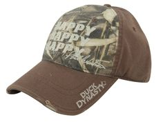 f1d54b89964e01 duck dynasty hats-caps | Duck Dynasty Happy Happy Happy Cap Cotton Brown  and Realtree