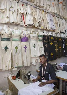 Tailor In His Shop, Asmara, Eritrea | by Eric Lafforgue