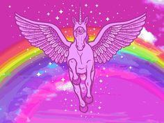 Hello Rainbow Kawaii Unicorn!!!