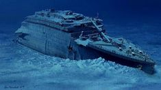 A timeline graphic and videos explaining how the Titanic crashed, split in two and sank 2.5 miles to the bottom of the Atlantic Ocean 100 years ago.