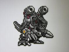 Machinedramon by 8-BitBeadsStudio.deviantart.com on @DeviantArt