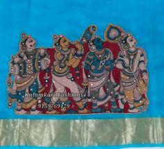 Fabric Paint Designs Kalamkari Design