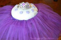 Ballerina Party Ideas via @ThirftyChicMom