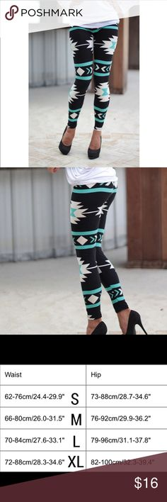 Leggings Funky leggings, high waste, stretchy, tight to the ankle and very comfortable  Materials: polyester cotton and spandex         ♥️offers welcome        ♥️fast shipping         no trades  Item #005 Pants Leggings