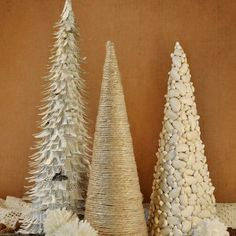 Handmade Christmas Trees, Pt. 3 | Beautiful Matters