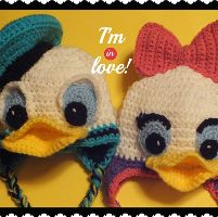 Crocheting: Free Donald & Daisy InspiredHat Pattern©