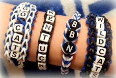 Personalized Bracelet  Custom Order  Choose by FuzzlesBandStand