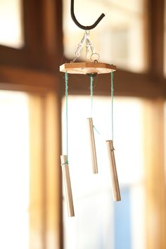 DIY: wind chime..add peace signs/hearts/beads