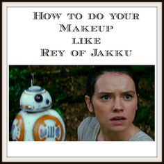 How to do your makeup like Rey of Jakku: Star Wars The Force Awakens Murad Resurgence moisturizer http://amzn.to/1OxfJwv Veil Sunset Light primer http://amzn.to/1UC1LhY Smashbox Cosmetics Studio Skin 15 hour Foundation http://amzn.to/1OxfMbG Smashbox Cosmetics Photo Light Primer http://amzn.to/1UC2cbT Laura Mercier bronzer http://amzn.to/1OxfYb6 Neutrogena eye shadows Cocoa Mauve http://amzn.to/1Oxg0j0 Wella Eimi Sugar Spray http://amzn.to/1Oxgp59