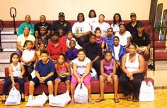 School supply giveaway at East Athens Community Center