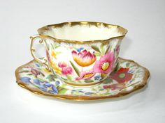Hammersley Queen Anne Handpainted Flowers by QualityCollection