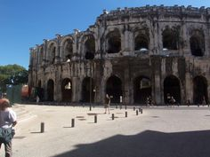 Nimes, France. Yes, there is an ancient Roman Coliseum there too...