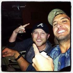 Luke Bryan & Cole Swindell