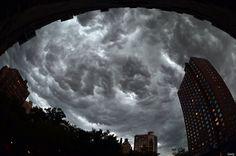 Ryan Brenizer, New York Photographer, Snaps Panorama Of NYC Storms (PHOTO)