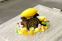 Passion  Fruit Chocolate  Brazo Gitano by Pastry Chef Antonio Bachour, via Flickr