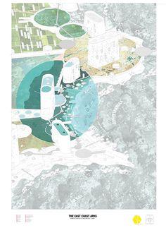 Balancing Catastrophe - East Coast Arks  |  Luke Royffe Location: Florida, USA UCL - Bartlett School of Architecture | Unit 11 - Proving Ground 2013 Supervisors: Laura Allen, Kyle Buchanan, Mark Smout