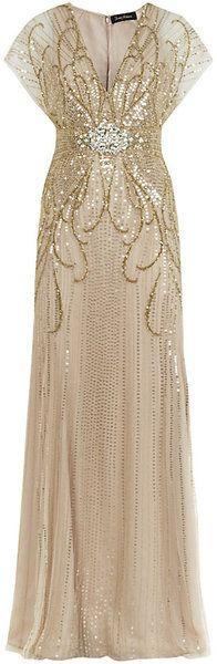 Jennypackham ball gowns | Jenny Packham Beaded Gown - Lyst                                                                                                                                                      More