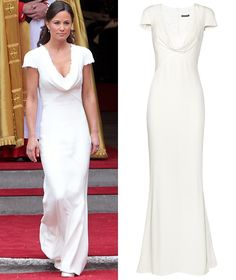 pippa bridesmaid dress | Pippa Middleton's Alexander McQueen bridesmaid dress is available to ...