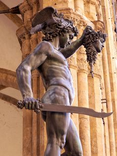 Perseus with the head of Medusa, by Cellini in Florence, Italy | by Mamluke, via Flickr