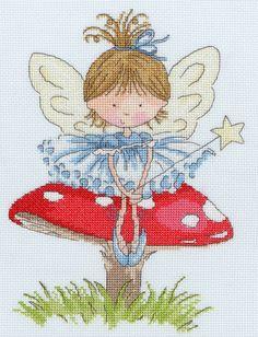 Cross stitch fairy