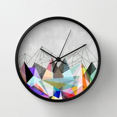 Color Spike Clock