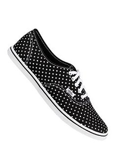 VANS Authentic LO Pro polka dot black