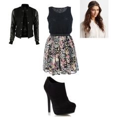 """""""Cute Oufit"""" by zhanka4ever on Polyvore"""