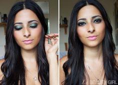 Makeup: Green Makeup for Brown Eyes
