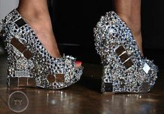 Even if I did own them, I'd never be able to walk in them!