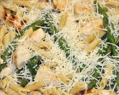 Chicken & Asparagus Penne - GOODEness Gracious - quick and tasty!