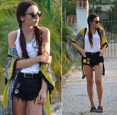 """Kimono+Shorts"""