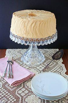 The perfect tea-with-friends dessert: Butterscotch Chiffon Cake.