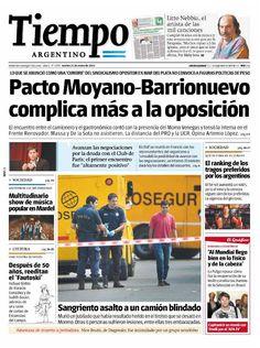 21 de enero - Tiempo Argentino - Semáforo rojo para la oposición