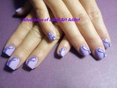 Adventures of a Nail Art Addict: Pancreatic Cancer - Purple Ribbons