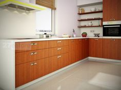 ... Hickory Hardware With Studio Collection Pulls. Mahogany Kitchen Cabinets
