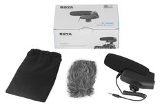 BOYA BY-VM600 Shotgun Microphone   The BOYA BY-VM600 is a new designed directional shotgun microphone which can maximizes the sound quality. More information about BY-VM600 http://www.boya-mic.com/shotgunmicrophonesystem/BY-VM600.html