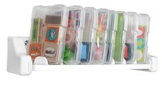 1-Dowel with Small Case Craft Supply Organizer - IRIS USA SHOP