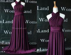 Infinito vestido Convertible de Dama de honor vestido por WomenLand