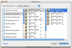 Looking for a Free Chat Client on Mac?  Try Yahoo Chat Rooms: Select a Yahoo Chat Room