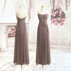 Sweetheart Chiffon Prom Dress/Long Prom Dress/Evening by DressLife, $92.00