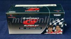 TOMICA TL 61 TOYOTA ZENT CERUMO SUPRA #38   75mm   SUPER GT 2005 GT500 CLASS