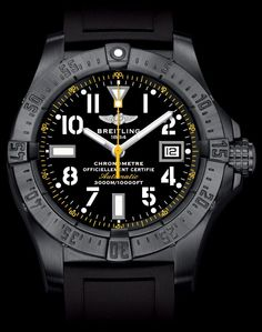 AVENGER SEAWOLF CODE YELLOW watch by Breitling on Presentwatch